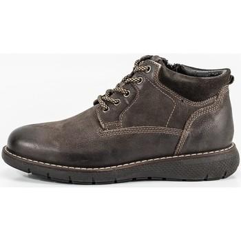 Sapatos Homem Botas baixas Oxyd MH-493H01 Marron