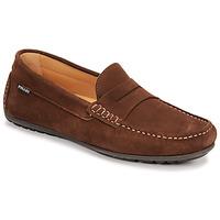 Sapatos Homem Mocassins Pellet Cador Castanho