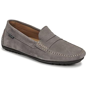 Sapatos Homem Mocassins Pellet Cador Cinza