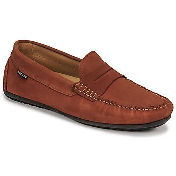 Sapatos Homem Mocassins Pellet Cador Vermelho