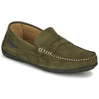 Sapatos Homem Mocassins Christian Pellet Cador Cáqui