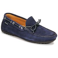 Sapatos Homem Mocassins Pellet Nere Azul