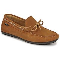 Sapatos Homem Mocassins Christian Pellet Nere Castanho
