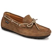 Sapatos Homem Mocassins Christian Pellet Nere Toupeira