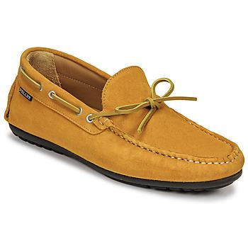 Sapatos Homem Mocassins Pellet Nere Amarelo