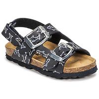 Sapatos Rapaz Sandálias Citrouille et Compagnie KELATU Marinho / Estampado