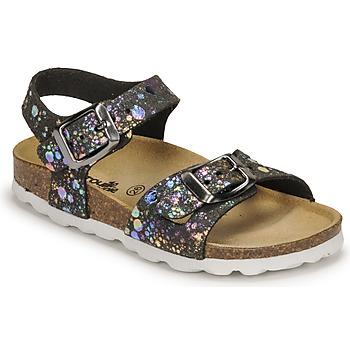 Sapatos Rapariga Sandálias Citrouille et Compagnie RELUNE Preto