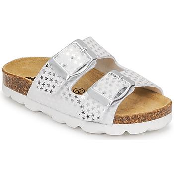 Sapatos Rapariga Chinelos Citrouille et Compagnie MISTINGUETTE Branco / Estrela