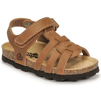 Sapatos Rapaz Sandálias Citrouille et Compagnie JANISOL Castanho