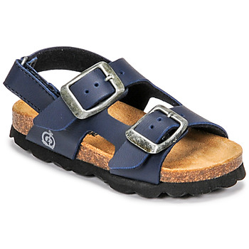Sapatos Rapaz Sandálias Citrouille et Compagnie KELATU Marinho / Escuro