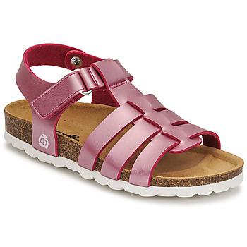 Sapatos Rapariga Sandálias Citrouille et Compagnie MALIA Rosa