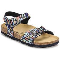 Sapatos Rapaz Sandálias Citrouille et Compagnie RELUNE Multicolor