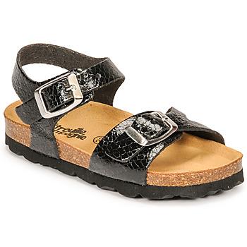 Sapatos Rapariga Sandálias Citrouille et Compagnie RELUNE Preto / Serpente