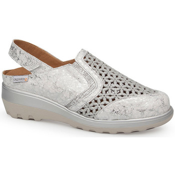 Sapatos Mulher Sandálias Calzamedi SANDAL  0728 BLANCO