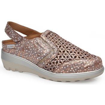 Sapatos Mulher Sandálias Calzamedi SANDAL  0728 BRONZE