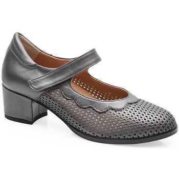 Sapatos Mulher Escarpim Calzamedi SAPATOS DE SALÃO  0743 CINZENTO
