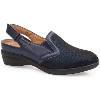 Sapatos Mulher Tamancos Calzamedi SANDÁLIAS  JUANETES ELASTICA AZUL
