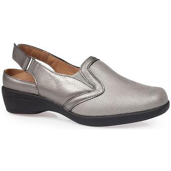 Sapatos Mulher Tamancos Calzamedi SANDÁLIAS  JUANETES ELASTICA PRATA