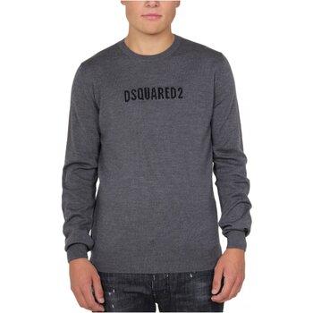Textil Homem camisolas Dsquared S71HA0916 Cinza