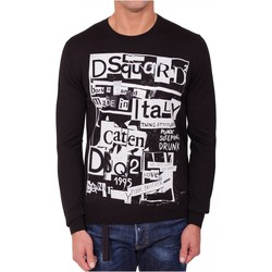 Textil Homem camisolas Dsquared S74HA0955 Preto