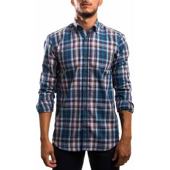 Textil Homem Camisas mangas comprida Klout  Azul