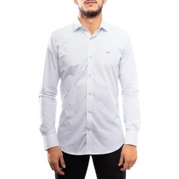 Textil Homem Camisas mangas comprida Klout  Blanco