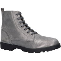 Sapatos Rapariga Botas baixas Kickers 830041 GROOKE Plateado