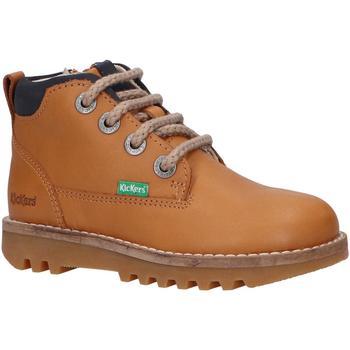 Sapatos Criança Botas baixas Kickers 829840 NEWNOBO Amarillo