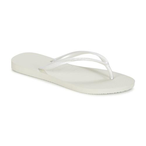 Sapatos Mulher Chinelos Havaianas SLIM Branco