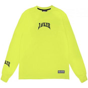 Textil Homem T-shirt mangas compridas Jacker Corpo Verde