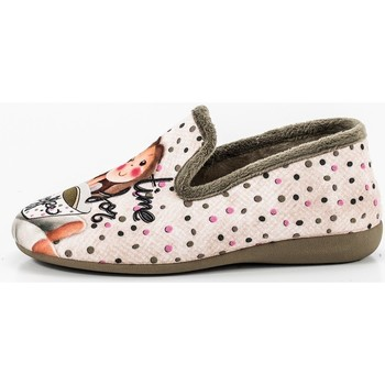 Sapatos Mulher Chinelos Tupie Shoes 71-29 rosa