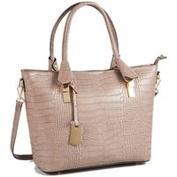 Malas Mulher Cabas / Sac shopping Christian Laurier NICO rouge