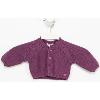 Textil Rapariga Casacos de malha Tutto Piccolo Chaqueta m/larga Violeta