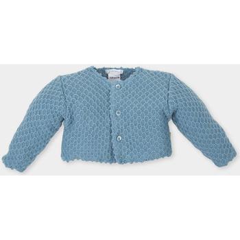 Textil Criança Casacos de malha Tutto Piccolo Chaqueta m/larga Azul