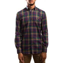 Textil Homem Camisas mangas comprida Klout  Verde