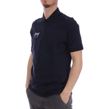 Textil Homem Polos mangas curta Hungaria  Azul