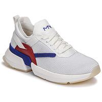Sapatos Mulher Sapatilhas Skechers SPLIT/OVERPASS Branco / Azul / Vermelho