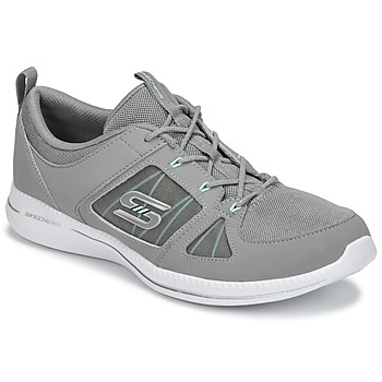 Sapatos Mulher Fitness / Training  Skechers CITY PRO - WITHOUT A CARE Cinza