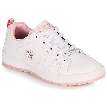 Sapatos Criança Sapatilhas Skechers STREET CLEAT 2.0/STEP 'N STYLE Branco / Rosa