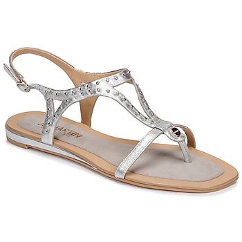 Sapatos Mulher Sandálias JB Martin ALANIS Matal / Prata