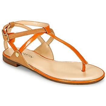 Sapatos Mulher Sandálias JB Martin GENIE Laranja