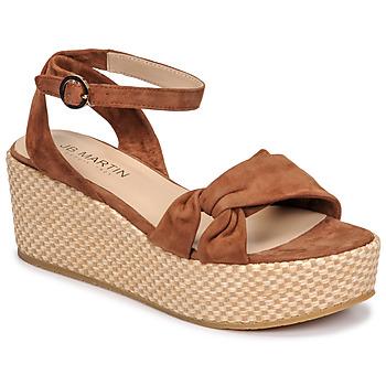 Sapatos Mulher Sandálias JB Martin CAPRI Castanho