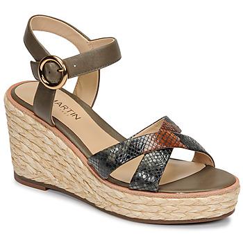 Sapatos Mulher Sandálias JB Martin EMEA Cáqui