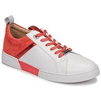 Sapatos Mulher Sapatilhas JB Martin GELATO Branco / Coral