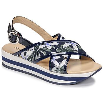 Sapatos Mulher Sandálias JB Martin ILANG Marinho