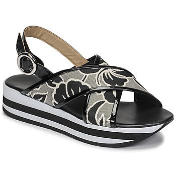 Sapatos Mulher Sandálias JB Martin ILANG Preto