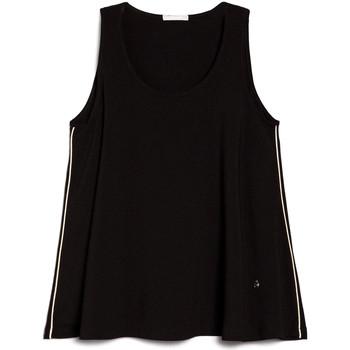Textil Mulher Tops / Blusas NeroGiardini E062790D Preto