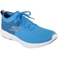 Sapatos Homem Sapatilhas Skechers 55209 Azul