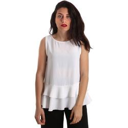 Textil Mulher Tops / Blusas Gaudi 911FD45048 Branco