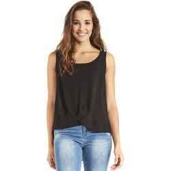 Textil Mulher Tops / Blusas Gaudi 911BD45001 Preto